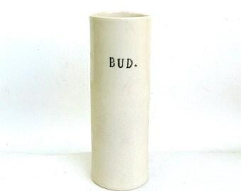 bud   ...  hand built porcelain vessel