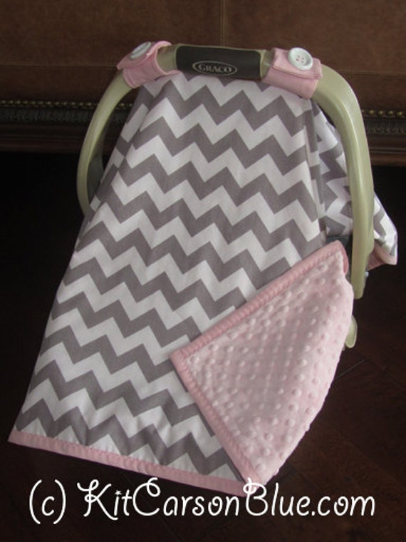 super cute baby car seat covers chevron in grey and white. Black Bedroom Furniture Sets. Home Design Ideas