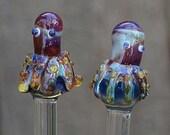 Octopi Glass Knitting Needles