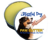 Dog Paw Butter Organic Balm for Dry or Cracked, Rough Dog Paw Pads 1 oz. - TheBlissfulDog