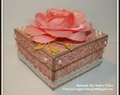 Square Shabby Chic Gift Box