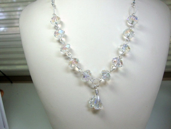 Sparkle All Day Crystal Bridal Necklace Wedding Jewelry Formal Occasion