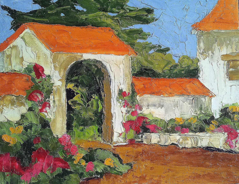 Original Impressionist Painting California Plein Air Landscape