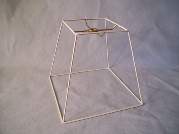 Square Lampshade Frame Lamp Shade Frame Washer Top