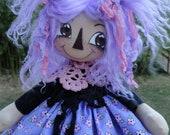 Lavender Annie Doll INSTANT DOWNLOAD ePattern 210 ET