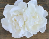Gardenia Bridal Hair Clip Available in Ivory