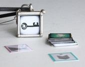 Small Necklace Locket : 36 Original blueorder Photographs Halloween Key
