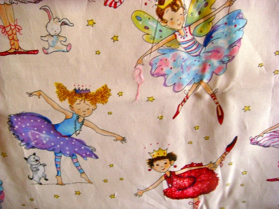 Elizabeth's Studio Ballerinas Cotton Quilting  Fabric