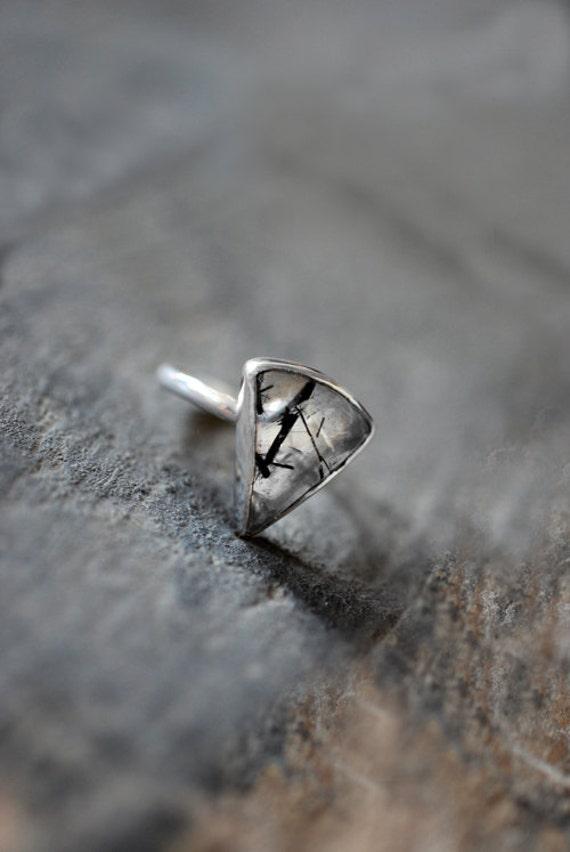 Black Needle Ring