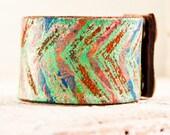 Vintage Bracelet - Boho - Eco Friendly - Upcycled - Repurposed - Reclaimed -  Arrows - Mother Earth - Spirit
