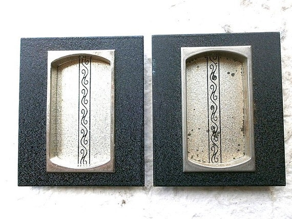 Vintage Japanese Door Pulls  Set K