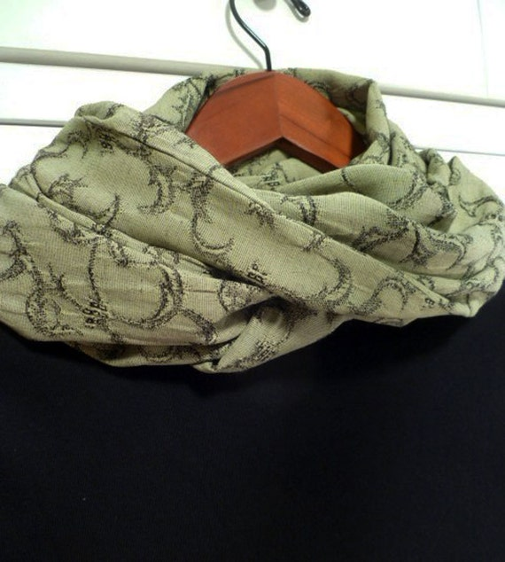 Infinity Scarf - Circle Scarf -  The Endless Scarf