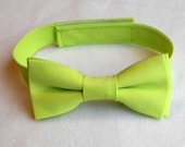Lime Green Bowtie - Infant, Toddler, Boys - 2 weeks before shipping  EASTER is March 27th!!