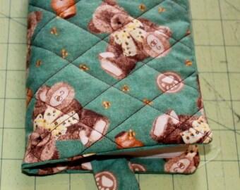 Green Teddy Bear Book Cover