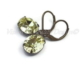 Jonquil Swarovski Crystal Rhinestone Earrings