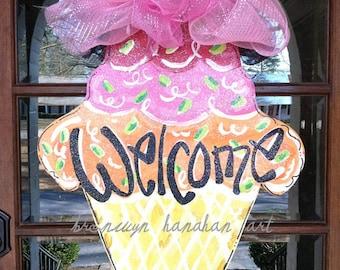Welcome Ice Cream - Bronwyn Hanahan Art