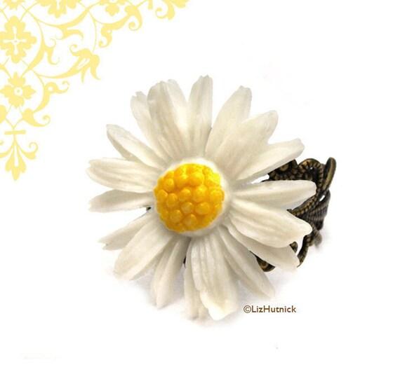 Summer Daisy Ring Clearance SALE