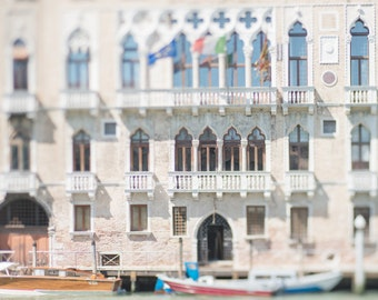 Venice Photography - Il Palazzo, Gothic Palace on the Grand Canal, Venice, Italy Travel Photograph, Home Decor, Large Wall Art