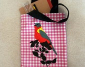 SALE - The Singing Bird : Tote Bag