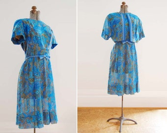 1960's Moss Etude Dress and Jacket / Jean Lang Original