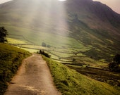 England Photograph, Lake District Photo British Countryside Mountains English Landscape MoorsYorkshire eng5