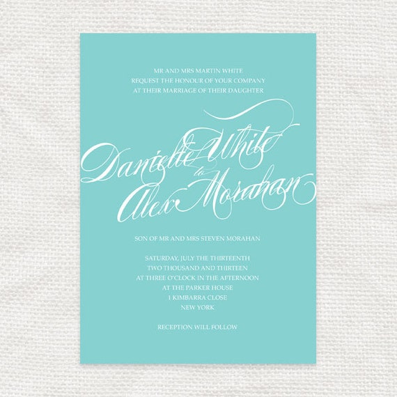 twirl - classic script printable wedding invitation twirl - elegant calligraphy simple modern swirl fonts romantic diy design