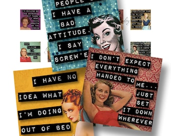 Good Golly Miss Molly Girl Quotes 1x1 Digital Collage Sheet Scrabble Tiles Square Inch Images For Jewelry Words Sayings