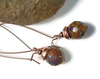 Vagabond - Picasso Bead Earrings
