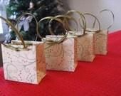 Ultra Mini Christmas Gift Bags - Holy (set of 4)