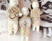 Reserved for Leopet-3 Embellished Frozen Charlotte Dolls Lot 7, 8, 9, & 10