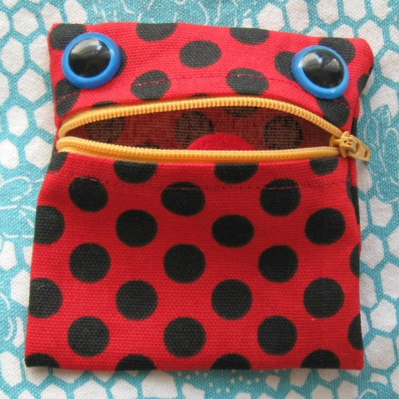 Coin Purse Monster Pouch