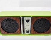 Refurbished Shabby Green RCA Electric AM Radio
