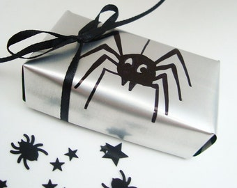 Spooky Spider Decor Halloween Soda Can Gift Box Recycled Eco Friendly  Repurposed Recycled
