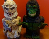 Maryland GoatMan And South Carolina Lizardman S/P shakers(Fullbody/standard Size)*Made To Order*