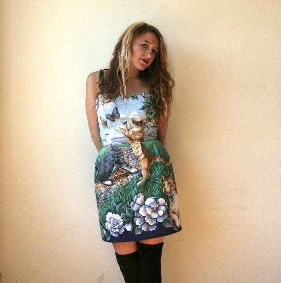 Sweetheart Cat Dress Sz XS / S