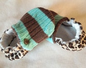 soft soled baby shoes NeW FaLL 2012 'Misfit Millie'... ready to ship in 6-12 months ...by birdy boots on Etsy