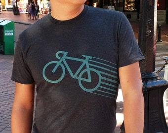 Speedy Bike Tee (Charcoal)