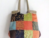 Handbag Boho tapestry hobo bag HIGH FASHION boho chic, 2 differend sides