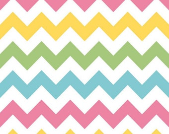 SALE - Riley Blake - Medium Chevron in Girl