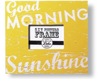 Good Morning Sunshine 5 x 7 Photo Frame