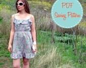 PDF Pattern - Fleur Dress