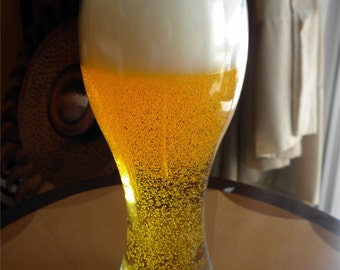 Ice Cold Belgian Wheat Beer Candle