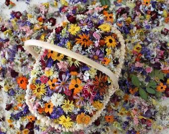 500 Dry Flowers, Confetti, Wedding Wildflowers, Craft supply, Centerpieces, Aisle Decor, Tossing, Table Decor, Wedding, Flower Girl, Daisy