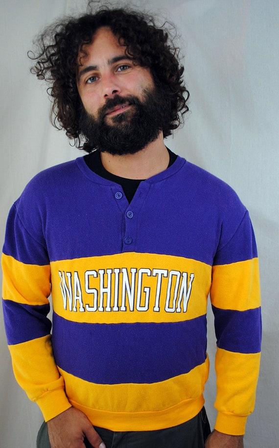 Vintage 1980s Husky University of Washington UW Sweatshirt
