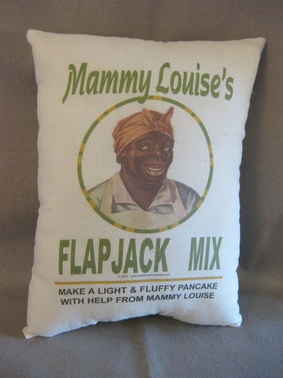 On Sale --Mammy Feedsack Pillow, Primitive, Rustic, Farmhouse