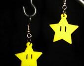Mario Power-up Star Earrings