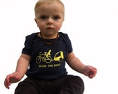 SHARE THE ROAD Infant Short Sleeve Lap Tee (6-12 m, 12-18 m)