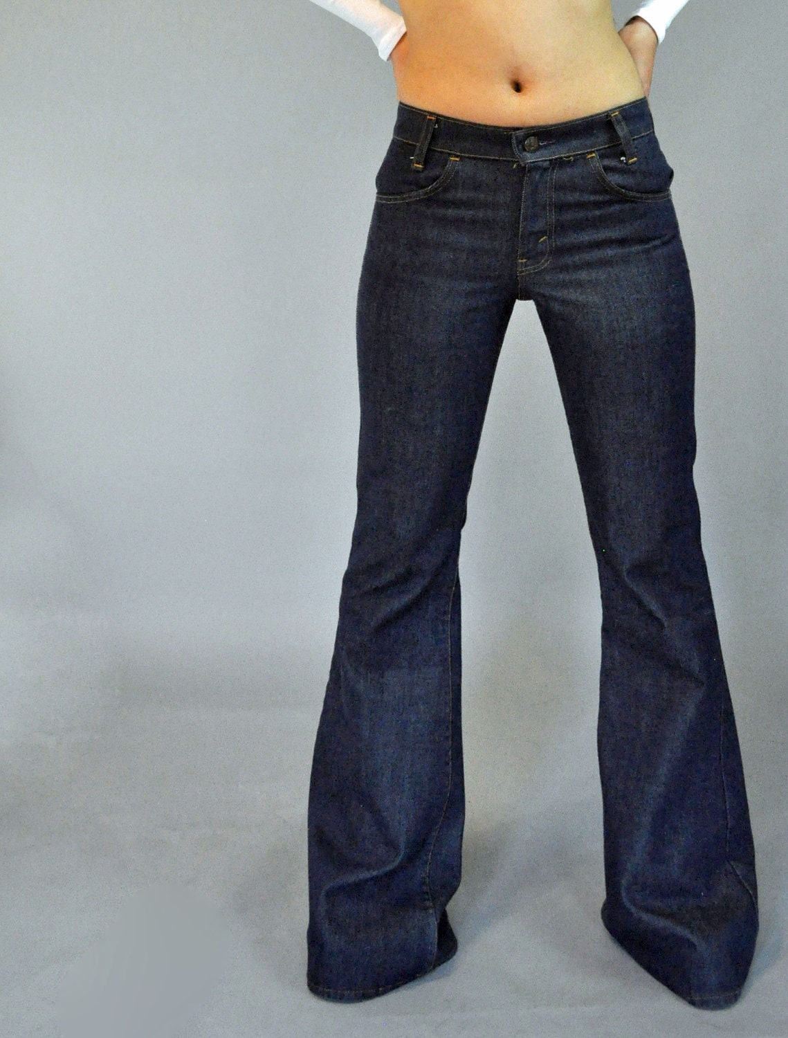 70s Vintage Levis Bell Bottom Jeans Hip By Rockstreetvintage