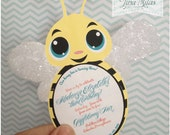 DIY Bee Invitations