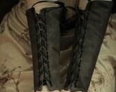 RESERVED Custom Order Single Leather Archery Bracer